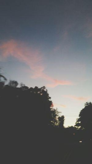 Beautiful sunset last night