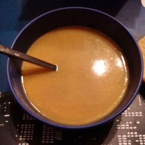 C'est une soupe qui va être trop bonne Potironschataignes Knorr Jadore