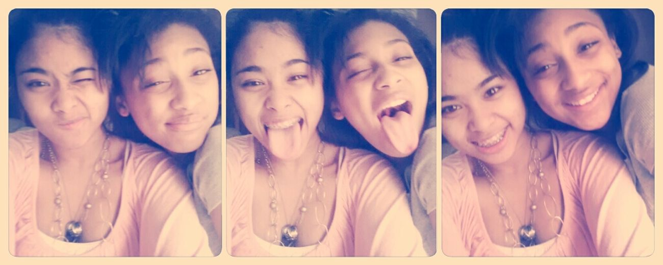 With My Lovely Sissy ;)