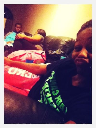 Watching Tv With My Sis & Brother