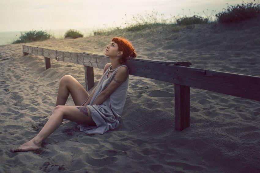 Woman Girl Canon EyeEm Best Shots Portrait Sunset Bestoftheday Tattoo Redhead Light