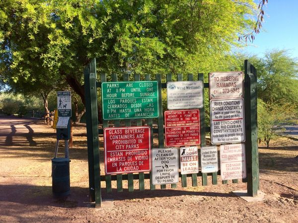 Good Lord Sooo Many rules just to walk around the park & nature trails, what is this world coming to 😮 https://paypal.me/pools/c/83C98Mcfza West Wetlands, Yuma, AZ Nature Trails Me Alone Nature Walk IPhone Photography Regulations Rules Tree Plant Day Nature Sunlight Park Outdoors