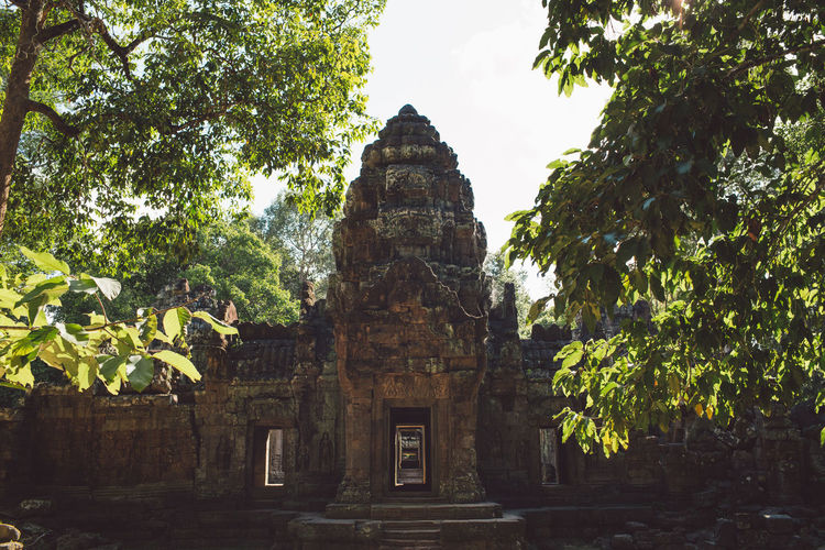 Siem Reap Cambodia Angkor Built Structure Architecture Religion Tree Plant Place Of Worship Belief Spirituality Tourism Ancient History The Past Building Travel Destinations Travel Building Exterior Old No People Ancient Civilization Outdoors Archaeology