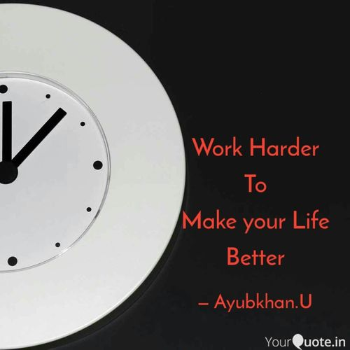 Hard WORK Pays by Ayubkhan.U