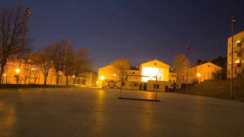 City Citylight Football Footballfield Illuminated Night Night Lights Nightphotography Sky