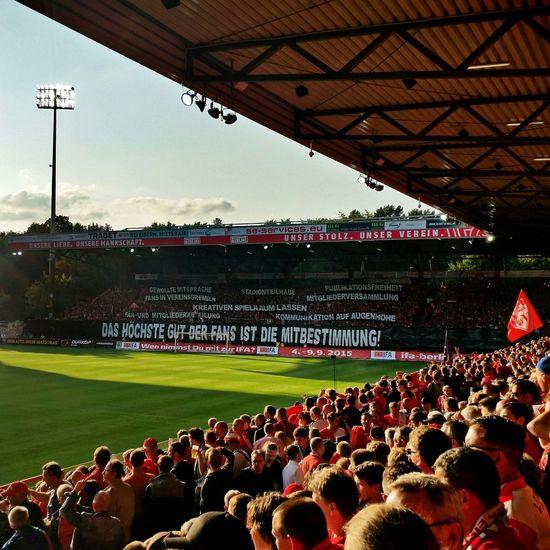 Das höchste Gut der Fans ist die Mitbestimmung! (Protest gegen RB Leipzig.) Fcunion Football Fussball