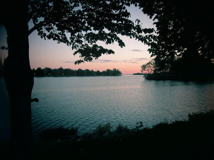Canada lake.