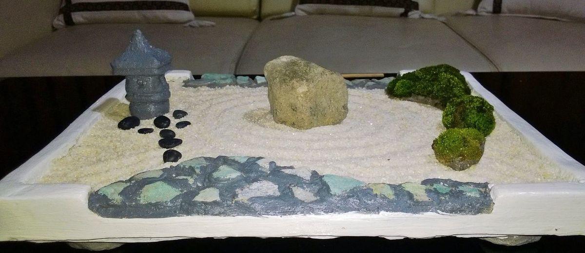 DIY mini zen garden Mini Zen Garden Zen Garden