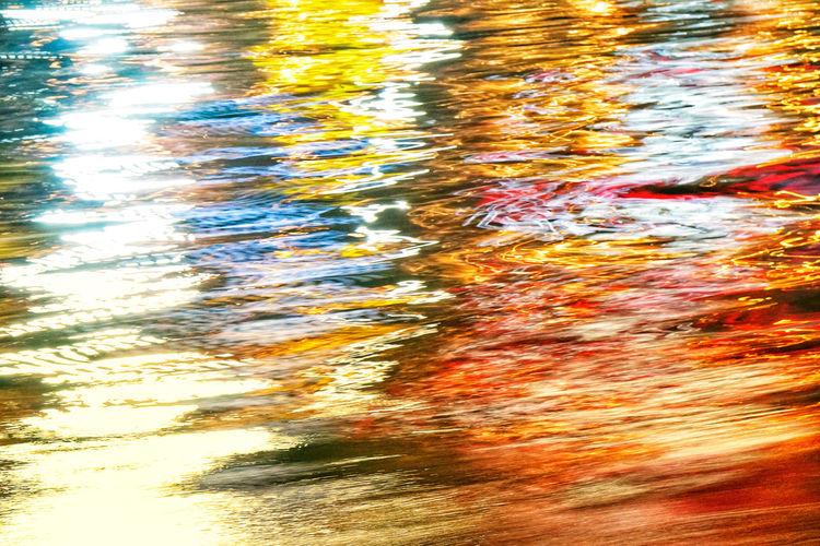 Full frame shot of water in lake