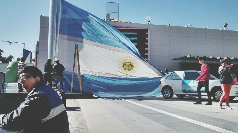 Linda bandera Argentina Photography