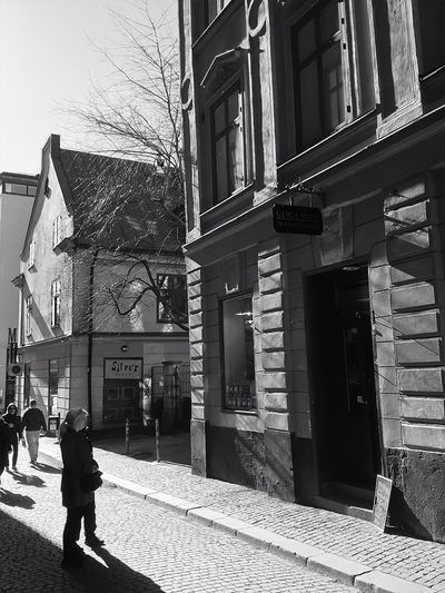 Gamla Stan Old Houses SWEDEN_bw Old And Beautiful