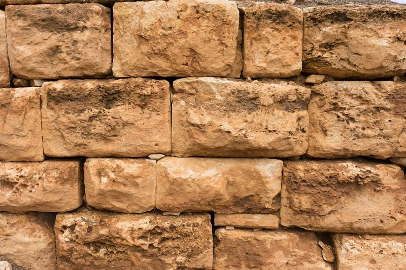 Ancient Roman wall Stone Material Textured  Backgrounds Pattern Textured Effect Rough History Variation Architecture Built Structure Full Frame Close-up No People Ancient Civilization Outdoors Day