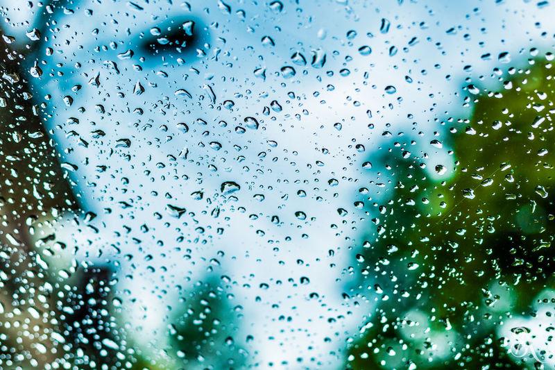 Rainndrops Nature Water Rain Raindrops Windshield