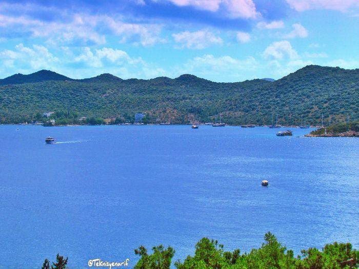 Kaş limanağzı plajı ve koyu Limanağzı Kas Koyu Summer2015 View Holiday