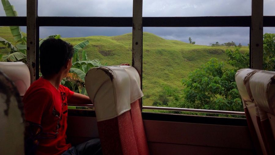 being alone doesnt mean you are lonely😊 Passenger Bus Ride Window One Person Outside View Real People Male Adult Scenic Landscapes At The Province Peace And Quiet Enjoying The View Enjoying The Ride Local Bus Rural Scenes Far From City Life Serene Outdoors Fresh Air And Sunshine Eyeem Philippines Solitude Traveling Happiness IntrovertProblems Nature Lover Nature Is Freedom My Point Of View