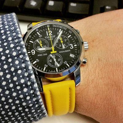 Tissot Prc200 Watchuseek WUS Wis Wristshot Instawatch Watchesofinstagram Tissotmoment