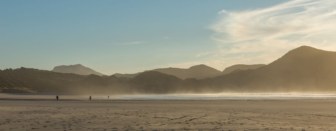 Before sunset at one of the most beautiful coasts on earth. Beach Beauty In Nature Day Mountain Nature Outdoors Sand Scenics Sea Sky Tranquil Scene Tranquility Water