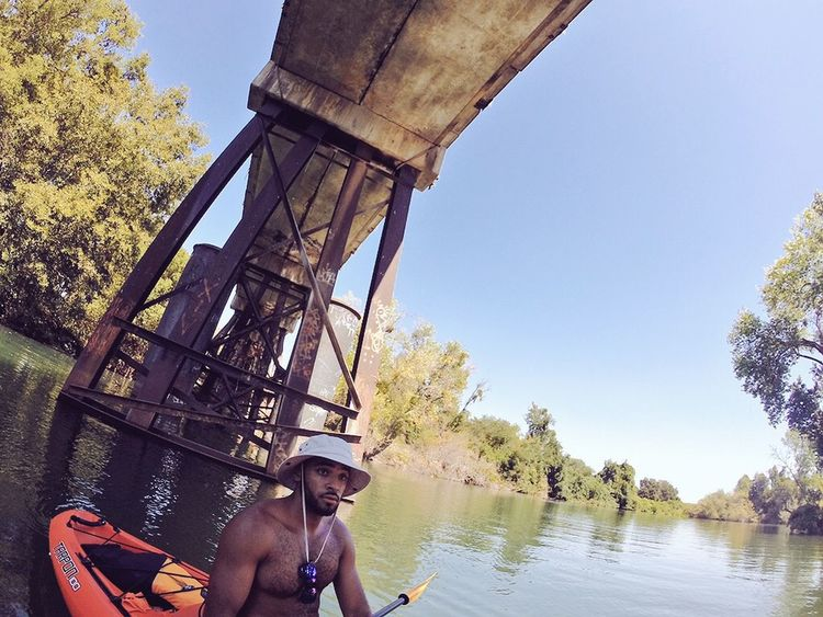 Kayaking Adventure Gopro Sun Nature Water Adventures River