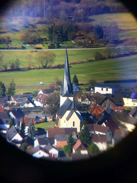 Aerial View Architecture Building Exterior Day Ferngully Flying Focus Frühling Hessen High Angle View Hinterland Kirche Macro Nature No People Outdoors Place Of Worship Scenics Tree Vergrößerung Village