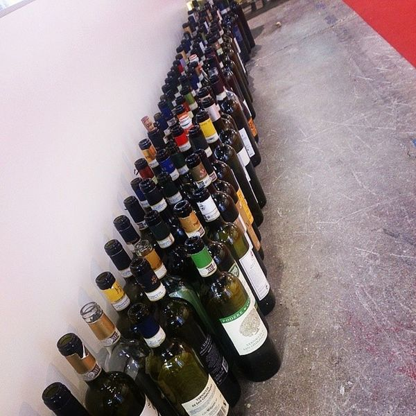 Vinitaly Bottiglie Vino Wine Theend
