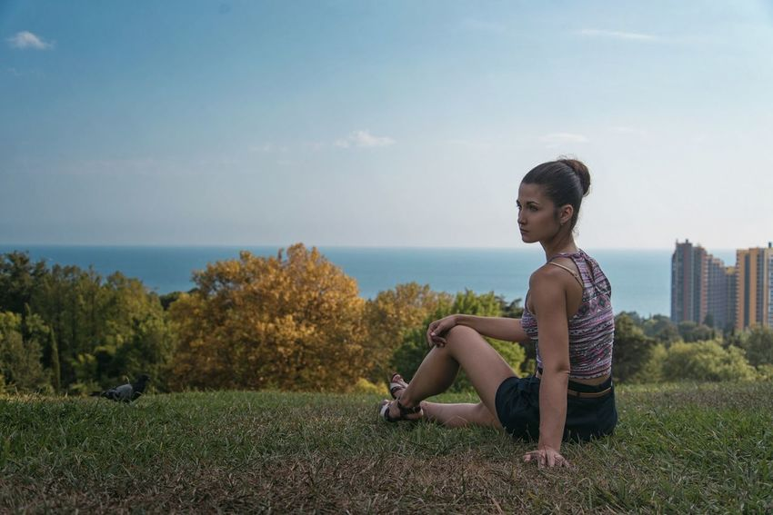 Дендрарий, Сочи Sochi Aboretum Woman Me Portrait Landscape Beatiful View Russia LastYear