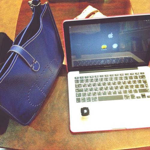 At Work Mac Book Pro Covo Hermes