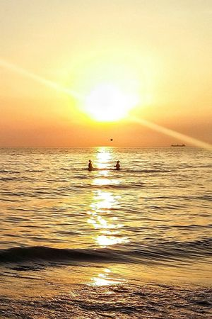 Colour Of Life Photo Zhoxha Photography Golem Amazing Happy Beach Albany Albania Landscape Sun Sunset Photooftheday Sky Beautiful Bech Golden