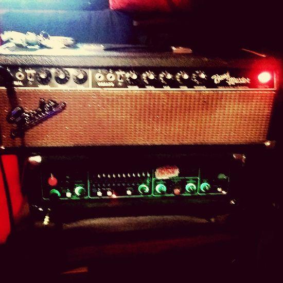 S73 Super73 Fender Amp TRACE ELLIOT Studio Day 2 begins