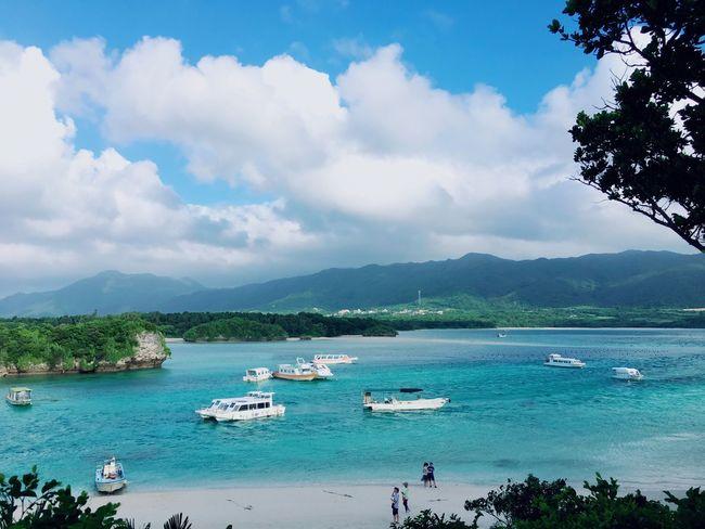 Ishigaki Island Ishigaki  Japan Japan Travel Japanlandscape Sea And Sky Sea Sea View
