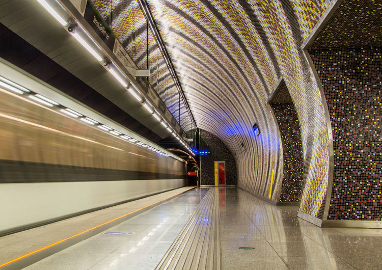 Architecture Budapest Budapest, Hungary Futuristic Metro Metro Station Metro Train Metro Transportation Modern Speed Subway Station Subway Train Train Transportation Underground Underground Station  Undergroundphotography