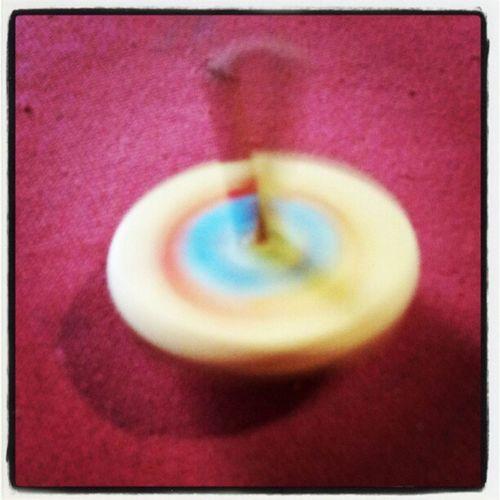 Giocattolo Toy Trottola Whirligig Paloggio