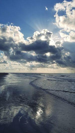 Sunrise Waves Sunlight Hilton Head Island, SC Water Sea Beach Blue Reflection Rippled Sky Horizon Over Water Cloud - Sky Seascape Ocean Surf Wave
