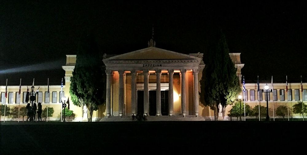 Architecture Architectural Column Building Exterior History Entrance Historic