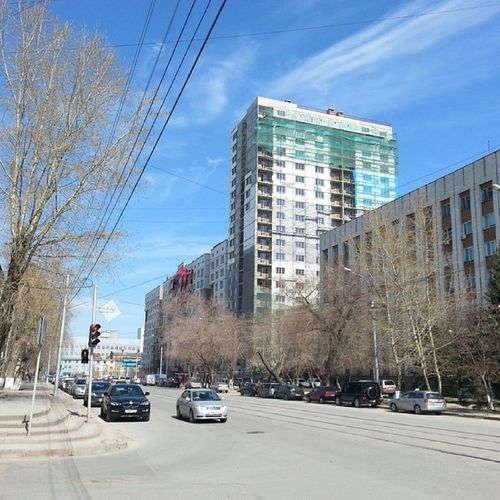 2014 -04-25, Новосибирск , улицаМичурина . весна / Novosibirsk, Michurina street. Spring.