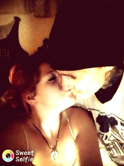 Kisses❌⭕❌⭕ Enjoying Life Extraordinary  Happiness ♡ You Mean The World To Me Marshall And Korah<3 Togetherness Lovers