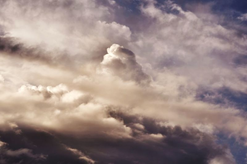 Cloud - Sky Sky Cloudscape Nature Beauty In Nature Sunset Cloud Mounatin High Contrast Dramatic Dramatic Sky