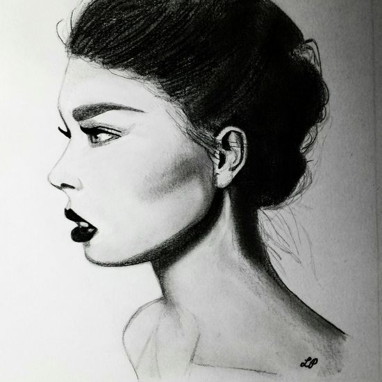 Portrait Drawing ArtWork Drawing Blackandwhite My Drawing Create Feeling Inspired Art