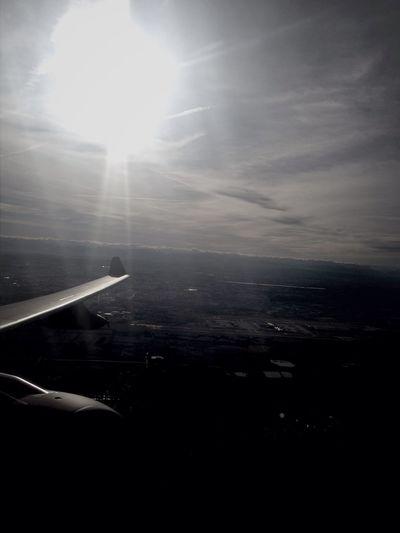 From An Airplane Window Raf Voyager Munich