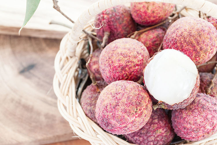 Abundance Close-up Freshness Fruit Juicy Lychee Still Life Sweet Tropical Yummy