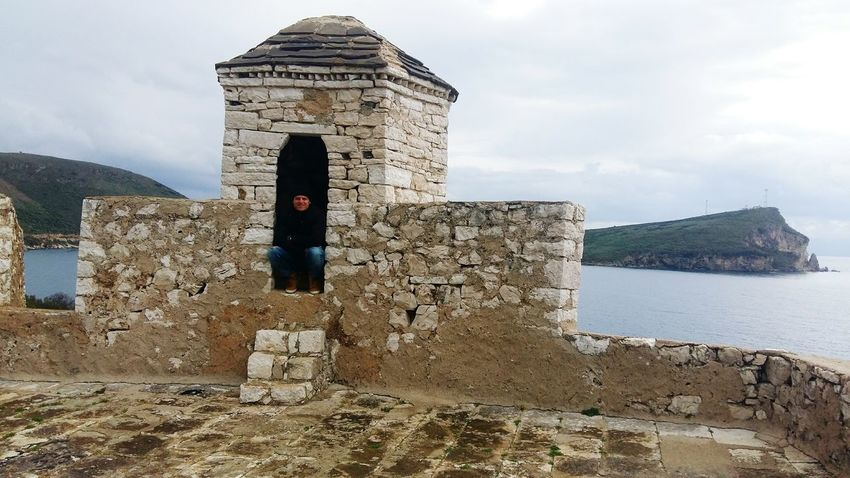 #Today #CastleofAliPashaTepelena #castle  Ali Pasha Castle PortoPalermo Albania