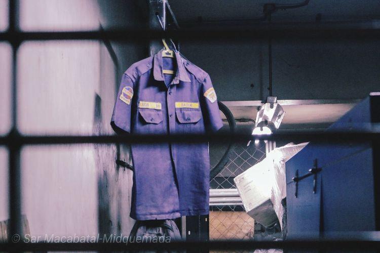 missing guard Uniform Hanger Display Security Guard Davao Hanging Close-up Locker Room Lock Office Building Locked Security Safe