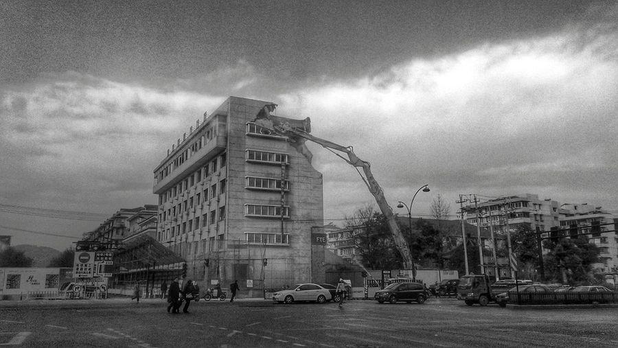 broken Hangzhou Street Photography