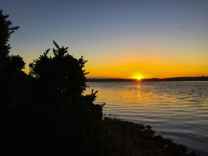 Beautiful Beautiful Nature Beauty Blue Sky Glowing Golden Hour Nature Nature_collection Orange Sky Orange Sky And Orange Sun Outdoors River Riverside Sky Sky_collection Sky_collection Skylovers Skyporn Sunset Sunset_collection Sunshine Tranquil Scene Water Water Reflections Water_collection