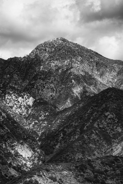Lower San Gabriel Beauty In Nature Cloud - Sky Day Environment Eroded Formation Geology Land Low Angle View Mountain Mountain Peak Nature No People Non-urban Scene Outdoors Power In Nature Rock Rock - Object Rock Formation Scenics - Nature Sky Solid Tranquil Scene Tranquility