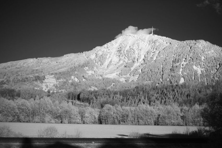 Infrared view on the Grünten mountain Infrared Beauty In Nature Cold Temperature Day Grass Infrared Photo Infrared Photography Infrarot Lake Landscape Mountain Mountain Range Nature No People Outdoors Scenics Sky Snow Tranquil Scene Tranquility Water Winter