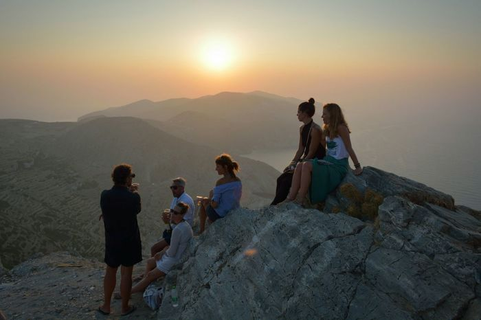 Landscape Lost In The Landscape Nature Adults Only Sunset Togetherness Outdoors Sky People Real People
