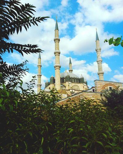 ✌☁ Edirne Mosque Selimiyecamii Selimiye Mosque Architecture Mimarsinan