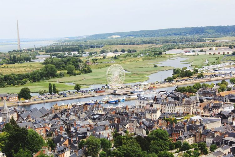 Walking OpenEdit Honfleur France Beautiful View Normandie Cityscapes Sightseeing Seeing The Sights