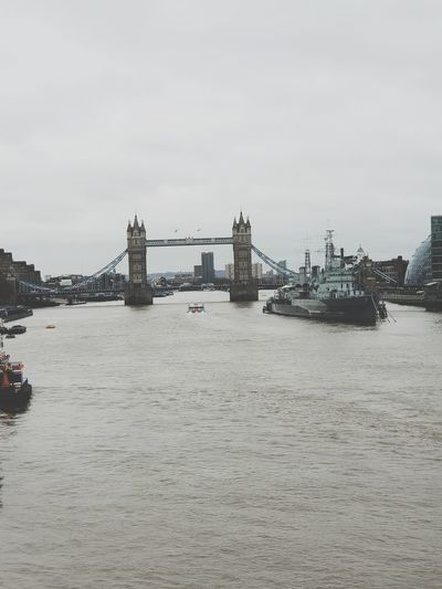 Towerbridge Towerbridge Towerbridge London City London LONDON❤ Axelborisab City Sea Cityscape Beach Bridge - Man Made Structure Water Sky Architecture