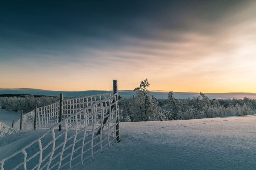 Sky And Clouds Sunset_collection Tranquility Winter Wintertime Beauty In Nature Cold Temperature Day Fog Foggy Morning Outdoor Photography Outdoors Selective Focus Sky Snow Sunset Tranquil Scene Winter Wonderland